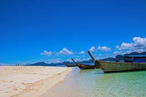 eau turquoise thailande